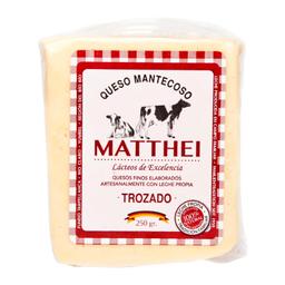 Queso Mantecoso Matthei 250 Gr