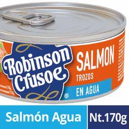 Robinson Crusoe Salmon En Trozo En Agua