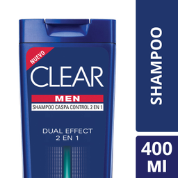 Clear Shampoo Men.Sh.Dual2En1.400