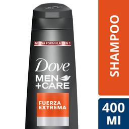 Dove Shampoo 2 En 1 Fuerza Extrema