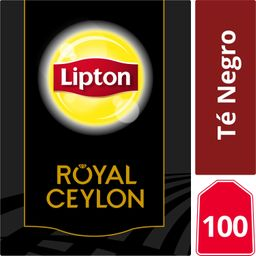 Lipton Royal Ceylon, Té Negro 100 Bolsitas