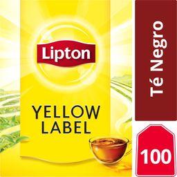Lipton Yellow Label, Té Negro 100 Bolsitas