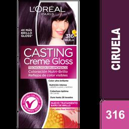 Coloración Creme Gloss 316 Ciruela