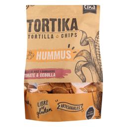 Tortika Hummus Tomat & Cebol Tika 180G