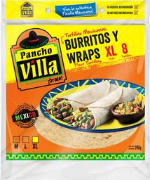 Tortilla Burrito Pancho Villa 8Un