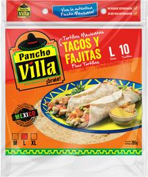 Tortilla Pancho Villa Mexicana (15Cm) 10 U