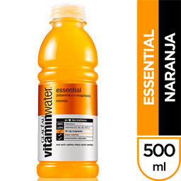 Vitamin Water Agua Essential Naranja Glaceau