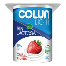 Yog S/L Colun Light 125Gr, Frutilla
