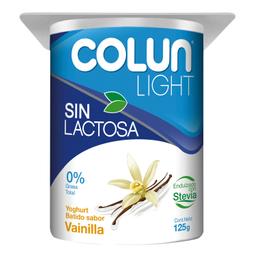 Yoghurt Colun Light Sin Lactosa Vainilla 125 g