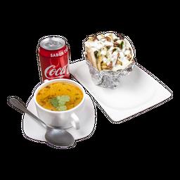 Menú 1 A Shawarma Pollo