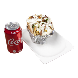 Menú 2 A Shawarma Carne