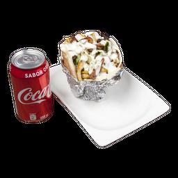 Menú 2 A Shawarma Vegetariano