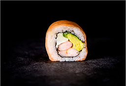 Sushi Salmón Cheese Roll