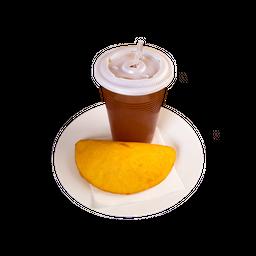 Empanada + Papelón con Limón