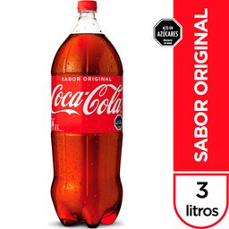 Bebida Coca Cola, 3 L (No Retor.)