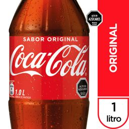 Bebida Coca Cola Original Botella 1Lt