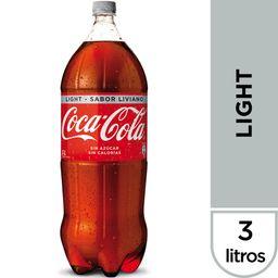 Bebida Coca Cola Light, 3 L (No Retor.)