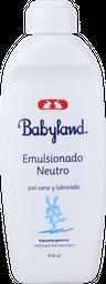 Emulsionado Neutro Babyland, 410 Ml