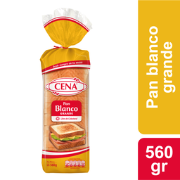 Pan Molde Blanco Grande Cena, 580 G