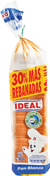 Pan Molde Blanco Grande Ideal, 750 G