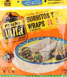 Tortilla Mexicana, Burritos, 8 U (21 Cm)