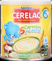 Cereal Cerelac Nestum, 5 Cereales Probióticos,400G