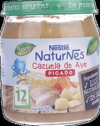 Picado Nestlé Naturnes Cazuela De Ave, 250 G
