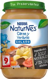 Colado Nestlé Naturnes de Carne y Verduras Desde 9 Meses 215 g
