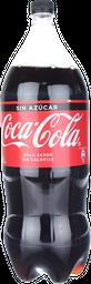 Bebida Coca Cola Zero, 2,5 L (No Retor.)