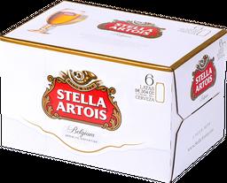 Cerveza Stella Artois, Lata 354 Ml X 6 U