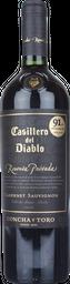 Vino Tinto Casillero Del Diablo Cabernet Sauvignon-Syrah 750 mL