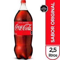 Bebida Coca Cola, 2,5 L (No Retor.)