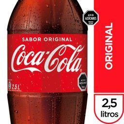 Bebida Coca Cola Original Botella 2.5Lt