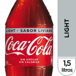 Bebida Coca Cola Light Botella 1.5Lt