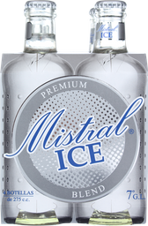 Pisco Mistral Ice Blend, 4 U 275 Ml