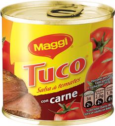 Salsa De Tomate Tuco Maggi Con Carne, Lata 245 G
