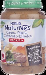 Picado Nestlé Naturnes Carne Y Espinaca, 215 G