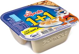 Yogurt Soprole  batido 1+1 con Zucaritas 140 g