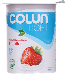 Yogurt Colun Light Frutilla 125 g