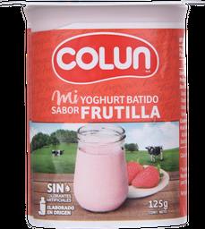 Yogurt Colun Batido Frutilla 125 g