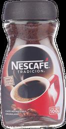 Café Nescafé Tradición, Frasco 100 G.
