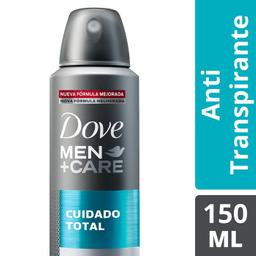 Desodorante Dove Men Care Cuidado Total 150 mL