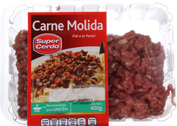 Carne Molida Super Cerdo, 450 G.