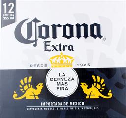 Cerveza Corona Extra, 355Ml X 12U (No Retor.)