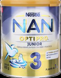 Formula Infantil Nan 3 Pro a Partir de 1 año 800 g