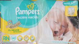 Pañal Pampers Recién Nacido, 40 U (2-4,5 Kg)