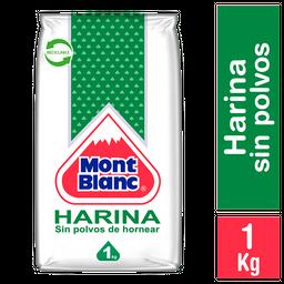 Harina Mont Blanc Sin Polvos