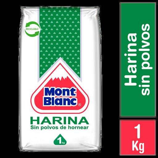 Mont Blanc Harina Sin Polvos