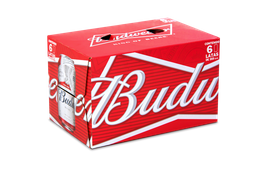 Cerveza Budweiser, Lata 350 Ml X 6U