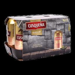 Cerveza Cusqueña 355 Ml Lata X 6 Un